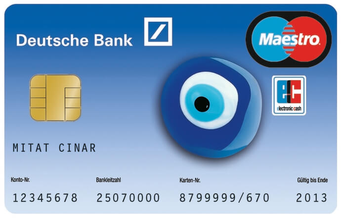 Deutsche Bank Ec Karte.Deutsche Bank Bankamiz Cumin Cases